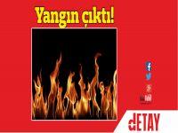 Gazimağusa'da işyeri yandı