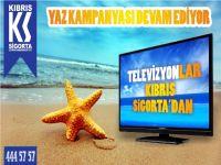 Kıbrıs Sigorta'dan Televizyon Kananlar belli oldu