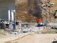 Jandarma karakoluna bombalı araçla saldırı
