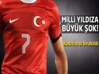 Türkiye A Milli Takımında şok!