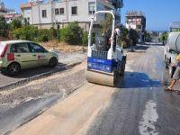 Girne'de kazı çalışmaları sonrası tamir işlemleri devam ediyor