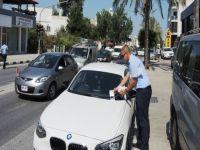 Girne Belediyesi Zabıtaları sürücüleri uyarıyor!
