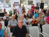 """""""Batmayan Uçak Gemisi"""" imza ve tanıtım günü Leymosun Kültür Evinde gerçekleşti...."""