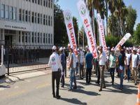 KAMU-İŞ'ten, Başbakanlık önünde eylem