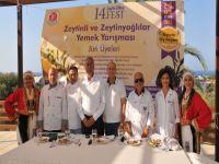 Zeytinli ve Zeytinyağlı lezzetler yarıştı
