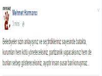 """Harmancı'dan Özgürgün'e """"Belediyeler sizin sayenizde batakta"""""""