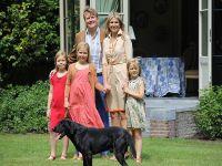 Hollanda kraliyet ailesi yıllık fotoğraf çekimi yaptırdı