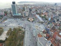 Taksim meydanı düzenlemesi bitiyor