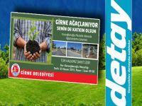 Girne Belediyesi'ndn Ağaçlandırma kampanyası