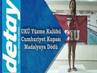 UKÜ Yüzme Kulübü Cumhuriyet Kupası Yarışlarından Madalyayla Döndü