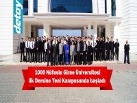 1000 Nüfuslu Girne Üniversitesi İlk Dersine Yeni Kampusunda Başladı...