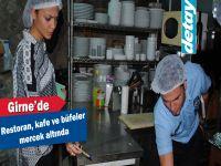 Girne'de restoran, kafe ve büfeler mercek altında