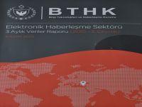 BTHK Elektronik Haberleşme Sektörü 3 aylık raporunu yayınladı