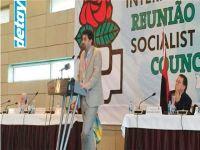 CTP, Sosyalist Enternasyonal Toplantısına katıldı