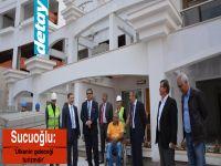 """Sucuoğlu: """"Ülkenin geleceği turizmdir"""""""