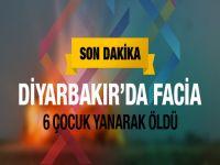 Diyarbakır'da facia