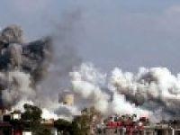 Esed yine varil bombasıyla vurdu: 15 ölü