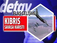 Kıbrıs'tan kalkan uçaklar Suriye'yi vuruyor