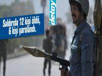 Afganistan'da roket mermisi eve isabet etti