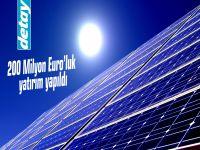 Türkiye ile Hollanda arasında Güneş Enerjisi projeleri