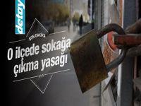 Diyarbakır'da sokağa çıkma yasağı kararı!