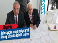 Girne Belediyesi'nden akıllı sayaç hizmeti.