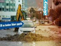 Yağışlı hava Girne bölgesi, Kuzey sahil şeridi ve Karpaz'da etkili oluyor