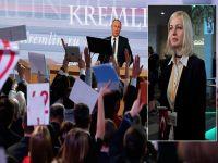 Putin'e Türk Bayrağı şoku