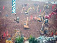 Çin'de 33 bina toprak altında kaldı