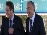 Kıbrıs'ta Liderleri hiç böyle görmediniz