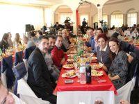 Gazimağusa Belediyesi çalışanları Yeni Yıl yemeğinde bir araya geldi