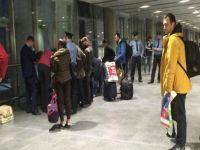 Rusya'ya giden 11 Türk geri gönderildi