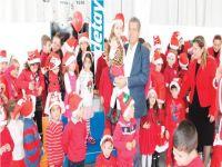 Gazimağusa Belediyesi Atatürk Kreş ve Anaokulu yeni yıl kutlaması yaptı