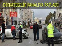 Yeni yılın ilk kazası