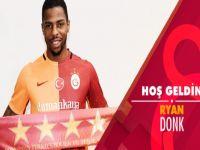 Ve Donk resmen Galatasaray'da…