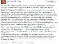 Talat'tan sert açıklama