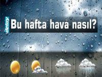 Bu hafta yağmur var mı?