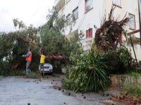 Lefkoşa Türk Belediyesi'nden fırtına uyarısı