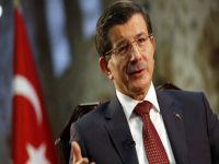 Davutoğlu'ndan Suriye açıklamaları: Muhalifler bizim sayemizde ayakta