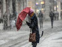 İstanbul'da kar alarmı: Tüm seferler iptal