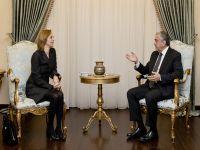Cumhurbaşkanı Akıncı, Hollanda Büyükelçisi'ni kabul etti