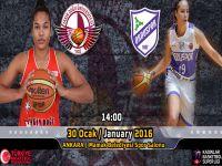 YDÜ Kadın Basketbol Takımı, Orduspor'u ağırlıyor