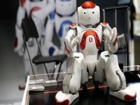 """Robotlar """"Global Robot Expo""""da yarıştı"""