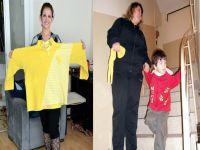 Oğlunun 'dev anne oldun' cümlesi 42 kilo zayıflattı