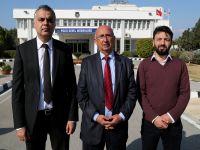 Özyiğit Başkanlığındaki TDP heyeti Polis Genel Müdürlüğünü ziyaret etti