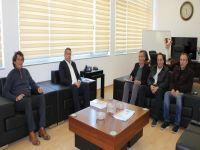 Kıbrıs Türk Esnaf ve Zanaatkârlar Odası Arter'i ziyaret etti