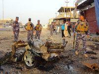 Irak'ta patlamalarda 35 kişi yaralandı