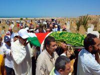 Filistinli yazar Mansur son yolculuğuna uğurlandı