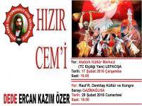 KKTC Alevi Kültür Merkezi'nden Hızır Cem'ine davet