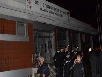 Trabzonspor taraftarlarından isyan: TFF binasını bastılar